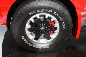 Nissan представил концептуальный пикап Frontier с дизелем Cummins