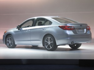 Новый Subaru Legacy дебютировал в Чикаго