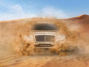 Опубликовано первое официальное фото будущего кроссовера Bentley
