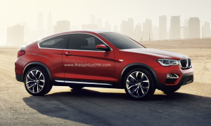 Завтра представят новый BMW X4