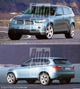 Новый кроссовер BMW X7 планируется в 2017-18 годах