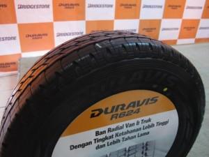 Индонезийская новинка для минивэнов и легких грузовиков – Bridgestone Duravis R624
