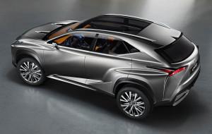 Серийный Lexus NX покажут в следующем месяце