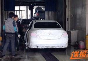 Mercedes-Benz C-Class станет длиннее для китайского рынка