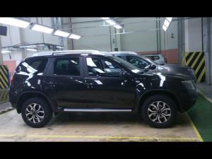 Новые фото российской версии Nissan Terrano появились в интернете