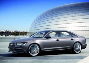 Гибридный удлиненный седан Audi A6 станет серийным