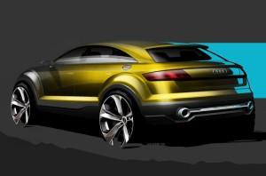 В сети появились скетчи прототипа Audi Q4