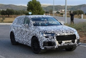 Фотошпионы словили новый Audi Q7 на тестах
