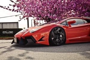 Диски PUR сделали Lamborghini Aventador еще эксклюзивнее