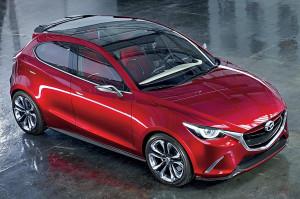 Началось тестирование новой Mazda2