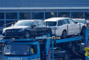 Универсал Mercedes-Benz C-Class был заснят без камуфляжа