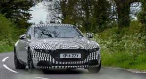 Фотошпионы «словили» на тестах большой седан Aston Martin