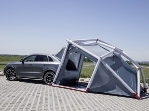 Audi и Heimplanet сделали из Q3 туристическую палатку