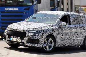 Новые шпионские фото Audi Q7 появились в сети