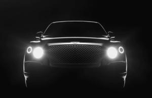 Bentley представил новый тизер будущего кроссовера
