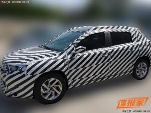 Серийный Citroen C-XR вышел на тесты в Китае