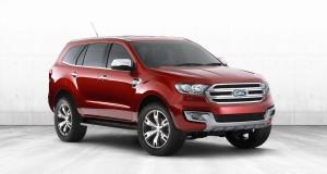 Модель концептуального внедорожника Ford Everest пойдет в серию