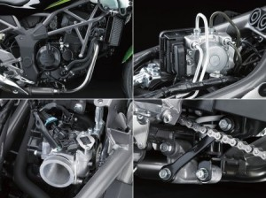 Дебютировал новый нейкед – Kawasaki Z250SL