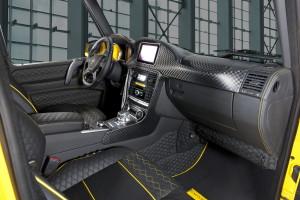 6-колесный Mercedes-Benz G63 AMG 6x6 попал под тюнинг Mansory