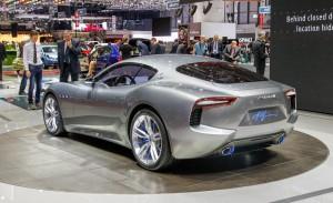 Новинка Maserati Alfieri засветилось на видео