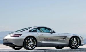 Звучание мотора Mercedes-Benz AMG GT можно послушать в тизерах