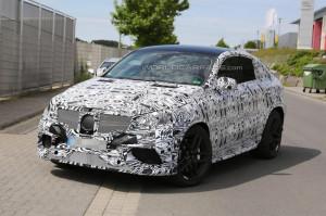 Mercedes-Benz ML Coupe AMG вышел на тесты