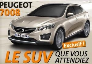 К 2018 году Peugeot выпустит габаритный вседорожник 7008