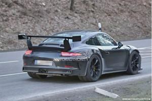 Porsche оснастит 911 GT3 RS турбированным двигателем
