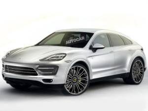 У BMX X6 появится еще один конкурент – Porsche Cayenne Coupe