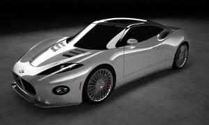 Spyker представил новые официальные скетчи серийного B6 Venator