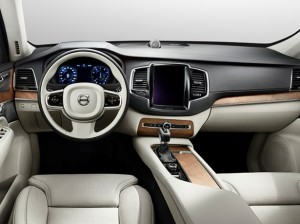 Салон нового Volvo XC90 настоящий минимализм