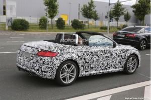 Открытая версия Audi TT дебютирует осенью