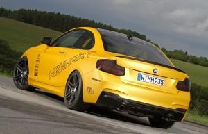 Manhart Racing превратило спортивное купе BMW M235i Coupe в гоночный болид
