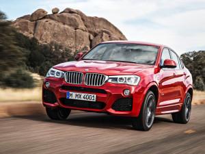 BMW X4 выходит на российский рынок
