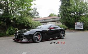 Тюнинг Ferrari F12 Berlinetta от Benchmark Motoring и DMC