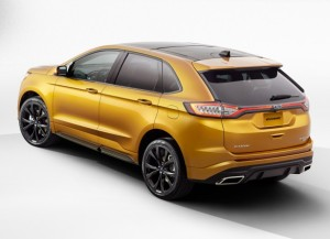 Состоялся дебют нового поколения Ford Edge