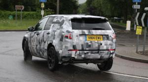 Появились новые шпионские фото Land Rover Discovery Sport 2015