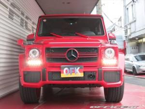 Ярко-красный тюнинг Mercedes-Benz G63 AMG от Office-K