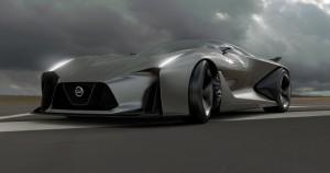 Еще один виртуальный суперкар – Nissan Concept 2020 Vision Gran Turismo