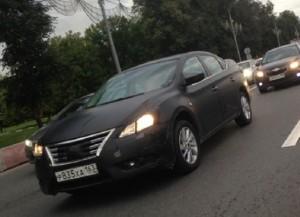 Фотошпионы словили российскую новинку Nissan Sentra