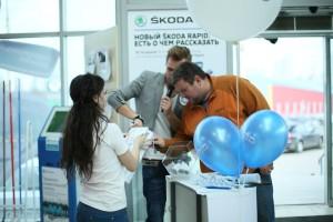 Презентация Нового ŠKODA Rapid