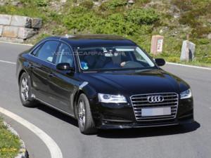 Начались испытания нового Audi A8