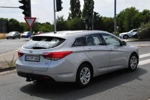«Посвежевший» Hyundai i40 засветился на дорогах Германии