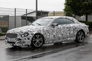 Началось тестирование открытой модификации Mercedes-Benz C-Class