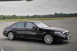 Mercedes-Benz S500 Plug-in Hybrid станет самой эффективной представительской моделью