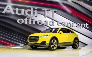 Audi представила на Московском автосалоне пять новинок