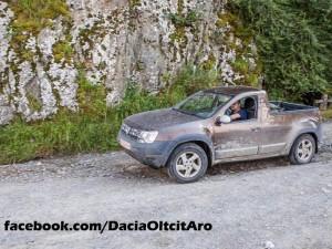 Renault Duster может стать пикапом