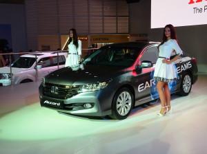 Российская Honda Accord получит новую силовую гамму