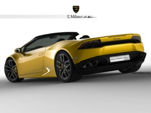 В 2015 Lamborghini Huracan останется без крыши