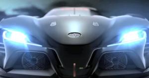 Новый трековый-спорткар Toyota «засветился» в тизере